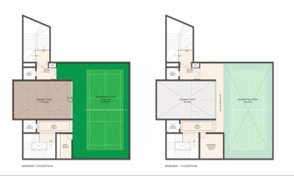 CH_Basement Floor Plan