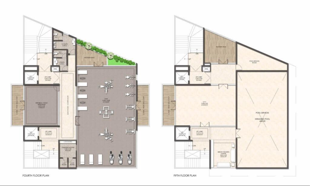 CH_Fourth _ Fifth Floor Plan